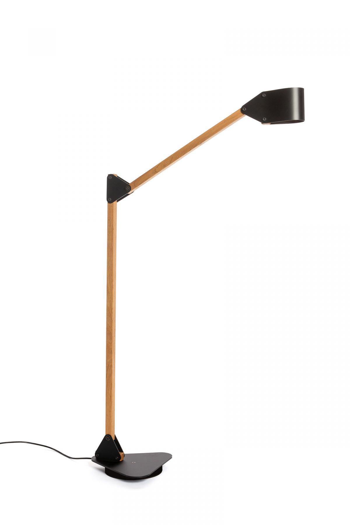 24mm Triangle floor lamp double