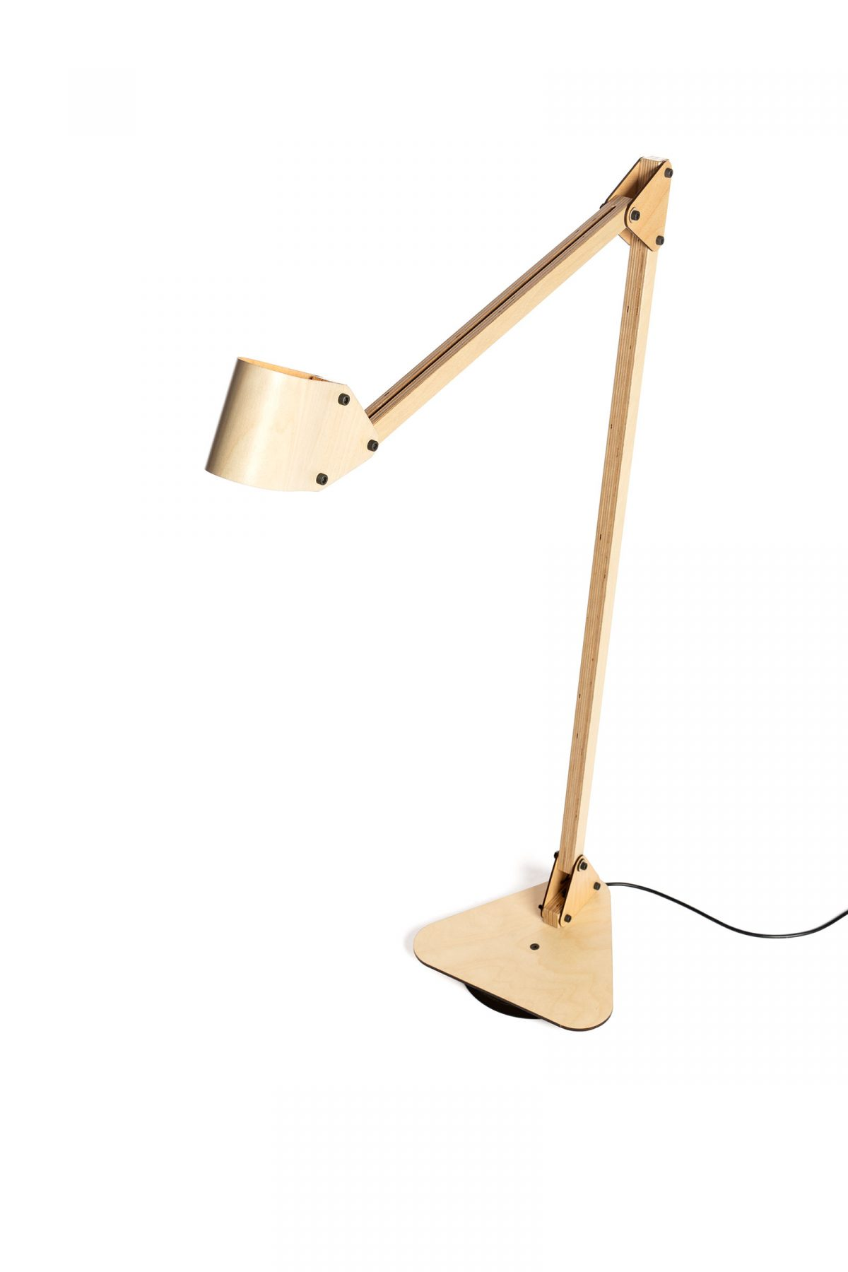 Trianglelamp Floor Dubble Berken 3