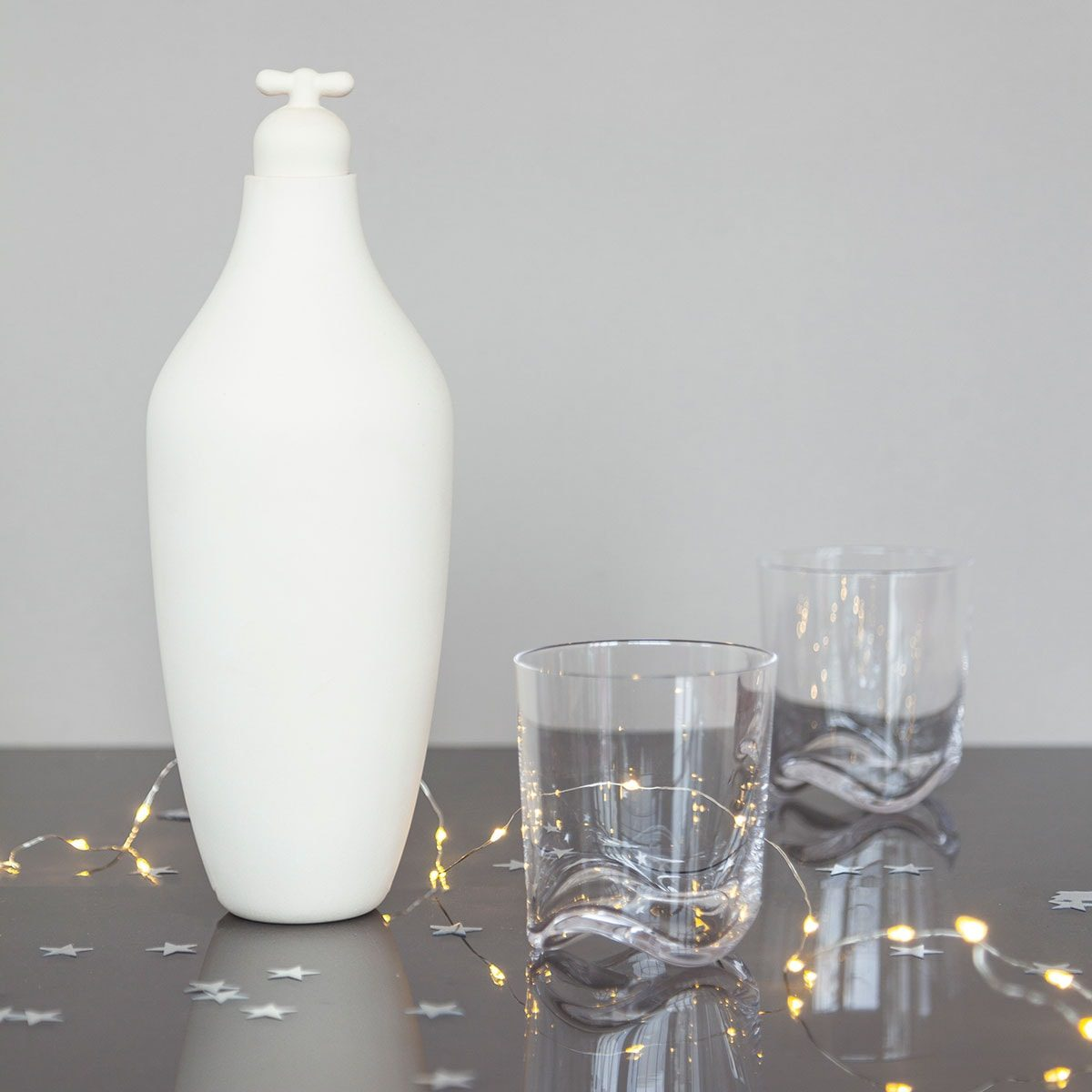 GIFT SET: Tap Water Carafe + WAVE glazen
