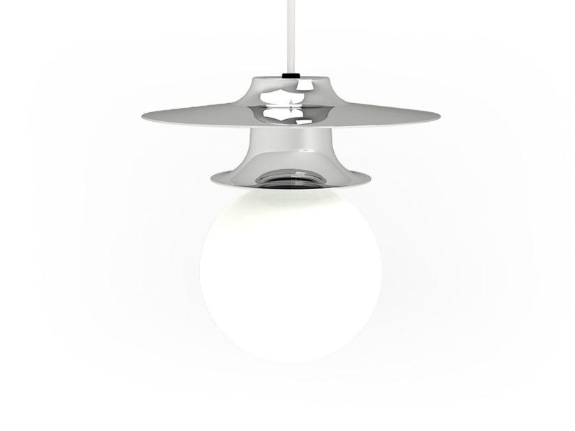 FIREFLY Tower Three Minimalistisch Hanglamp Chrome Roijé Design