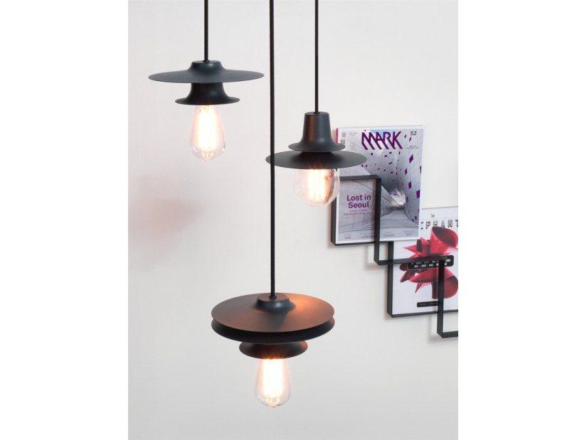 FIREFLY Tower Two Minimalistisch Hanglamp Donkergrijs Design Set