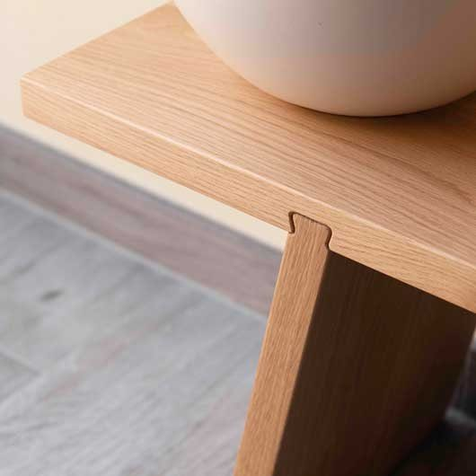 Functionals Dovetail Bench Wood Bank Design