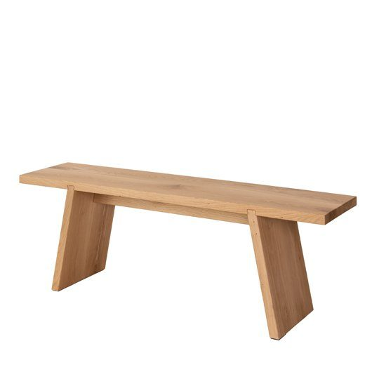 Functionals Dovetail Bench Wood Bank Dutch Design Modern