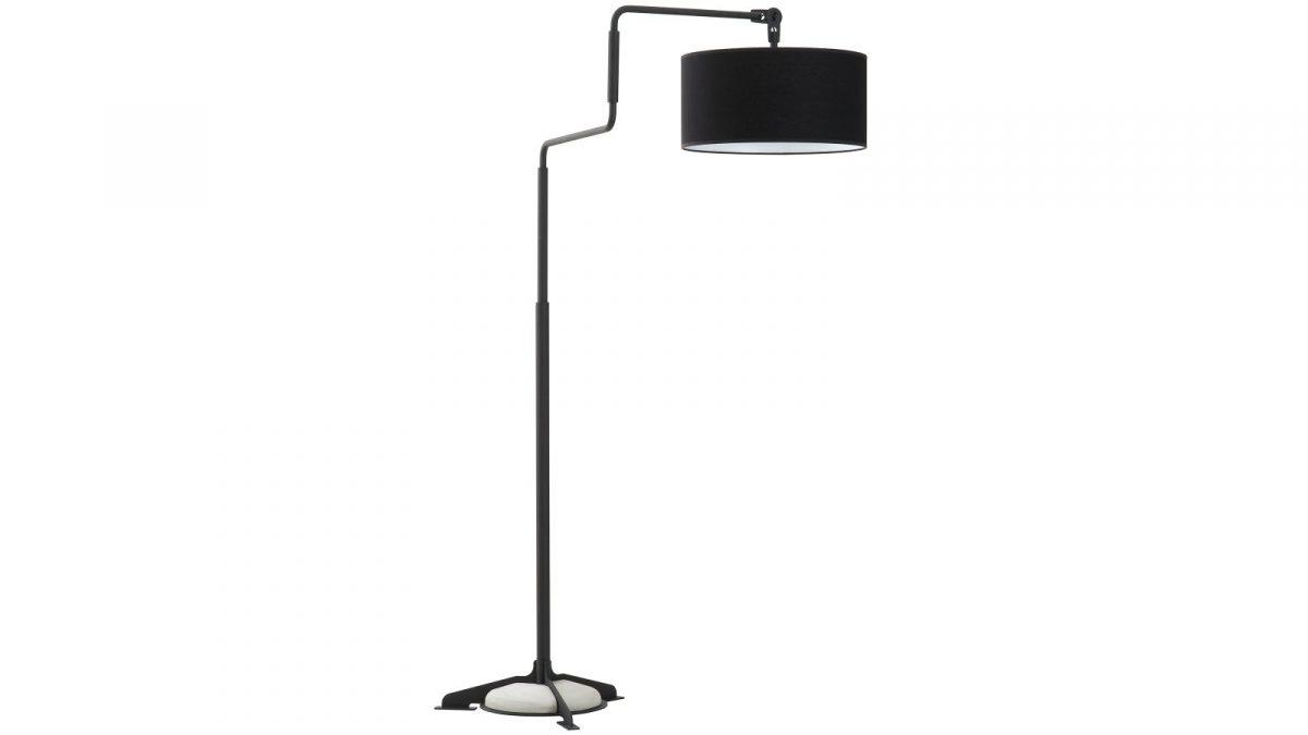 Functionals Swivel Vloerlamp Zwart Zwart Design Projectlamp