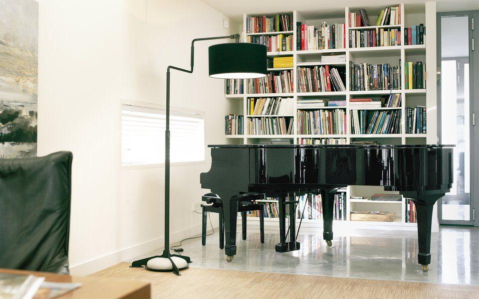 Functionals Swivel Vloerlamp Zwart Zwart Design Projectlamp Gimmii