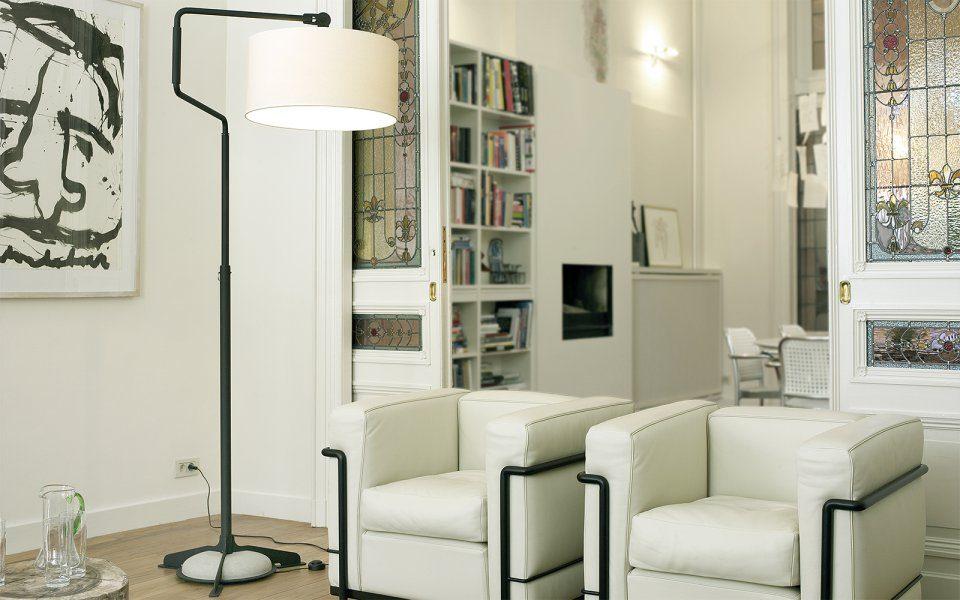 Functionals Swivel Vloerlamp Zwart Zwart Design Projectlamp Gimmii Verstelbaar
