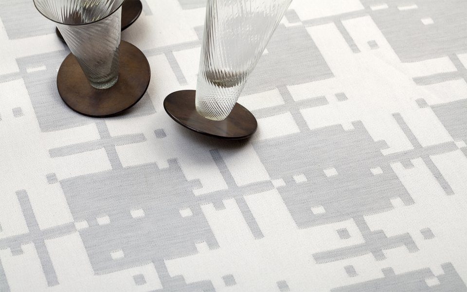 Functionals Table Linnen Patterns Dutch Design