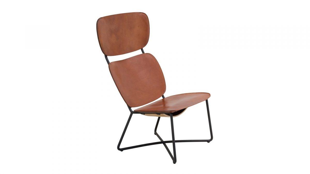 Functionals Miller High Dutch Design Stoel Natural Lounge Luxe Comfortabel