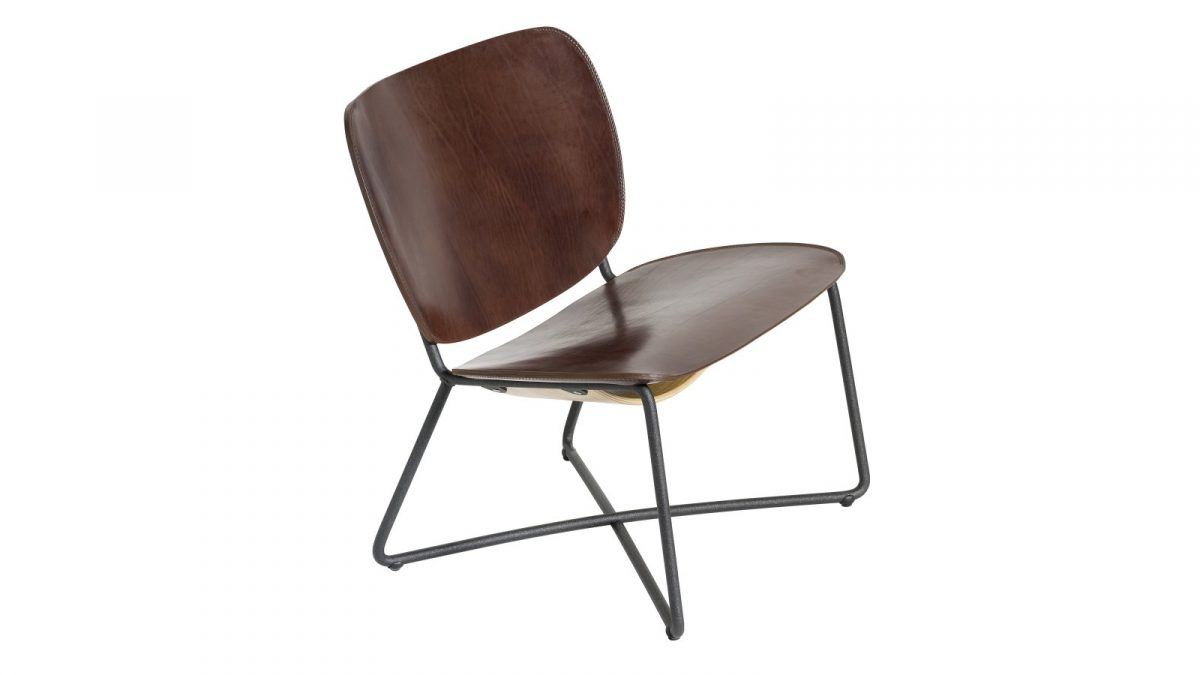 Functionals Miller Lounge Stoel Donkerbuin Comfortabel Design
