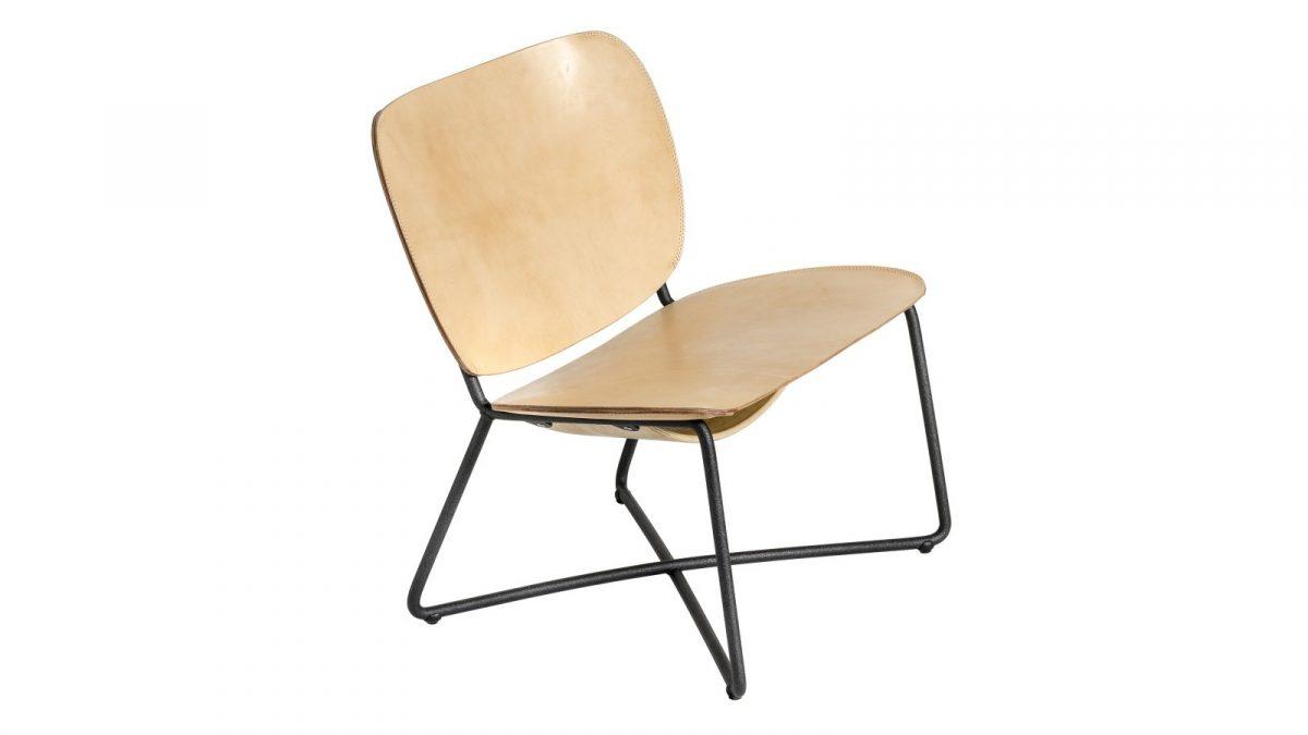 Functionals Miller Lounge Stoel Natural Comfortabel Design
