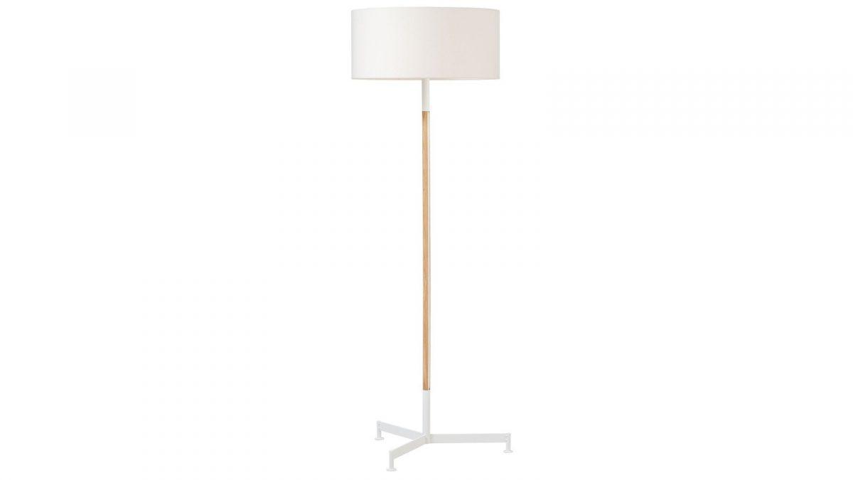 Functionals Stoklamp Design Vloerlamp Wit