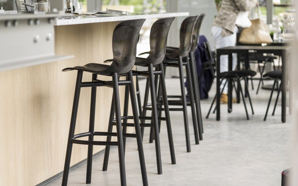Functionals Wendela Barstool Black Design Bar