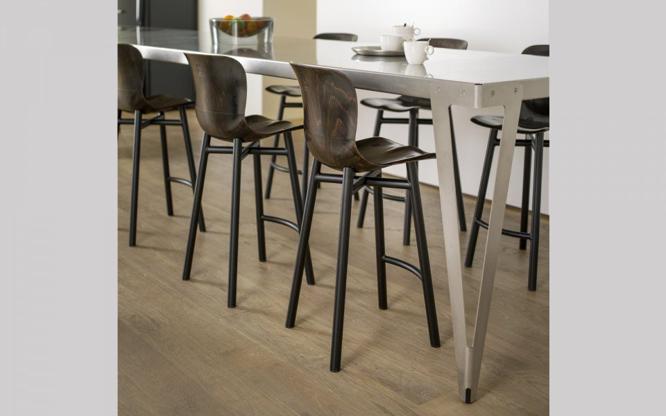Functionals Wendela Barstool Black Design High Barkruk Eettafel