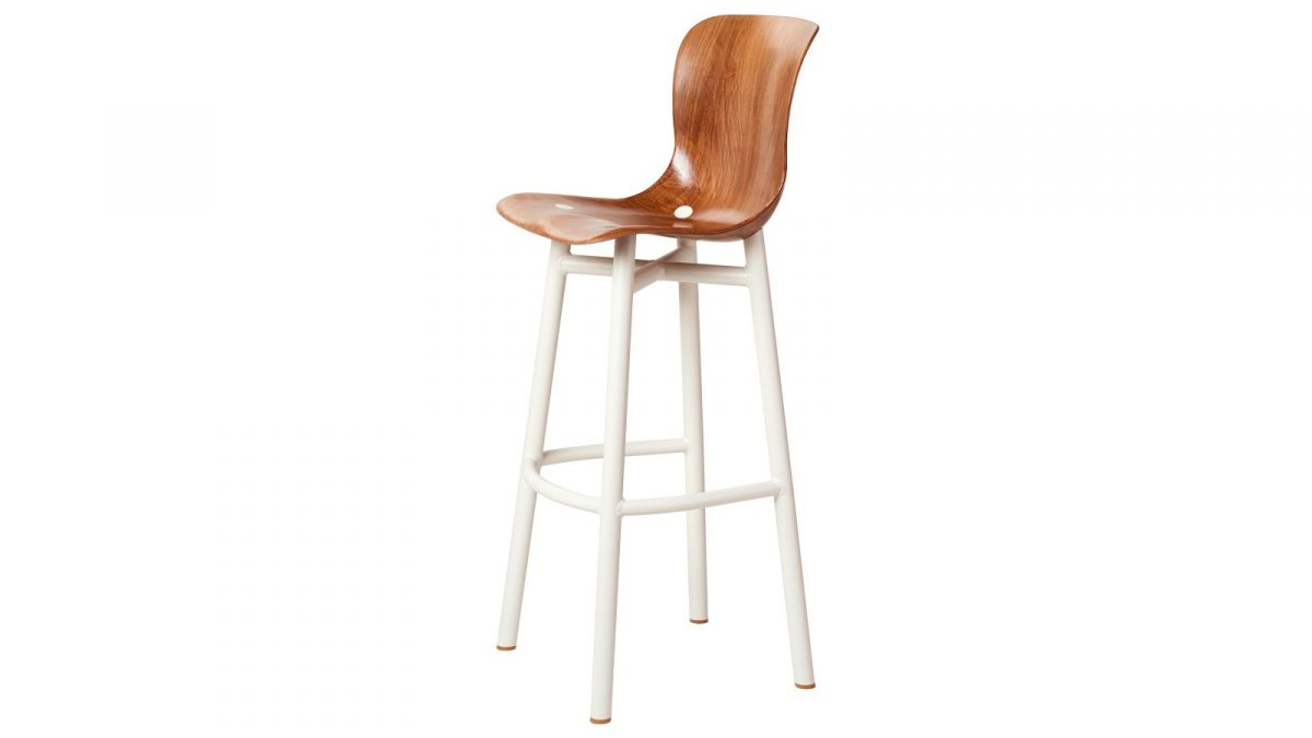 Functionals Wendela Barstool White Design High Barkruk