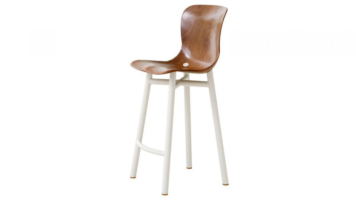 Functionals Wendela Barstool White Design Low