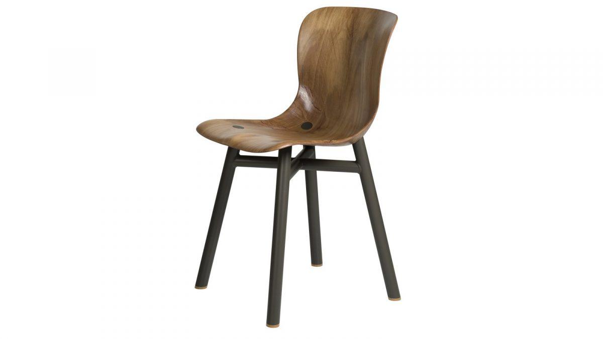 Functionals Wendela Chair Eetstoel Design Black Light Zitstoel