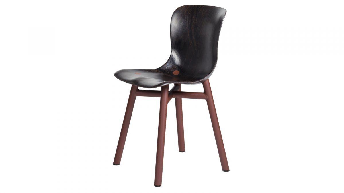 Functionals Wendela Chair Eetstoel Dutch Design Projectstoel Rust Dark