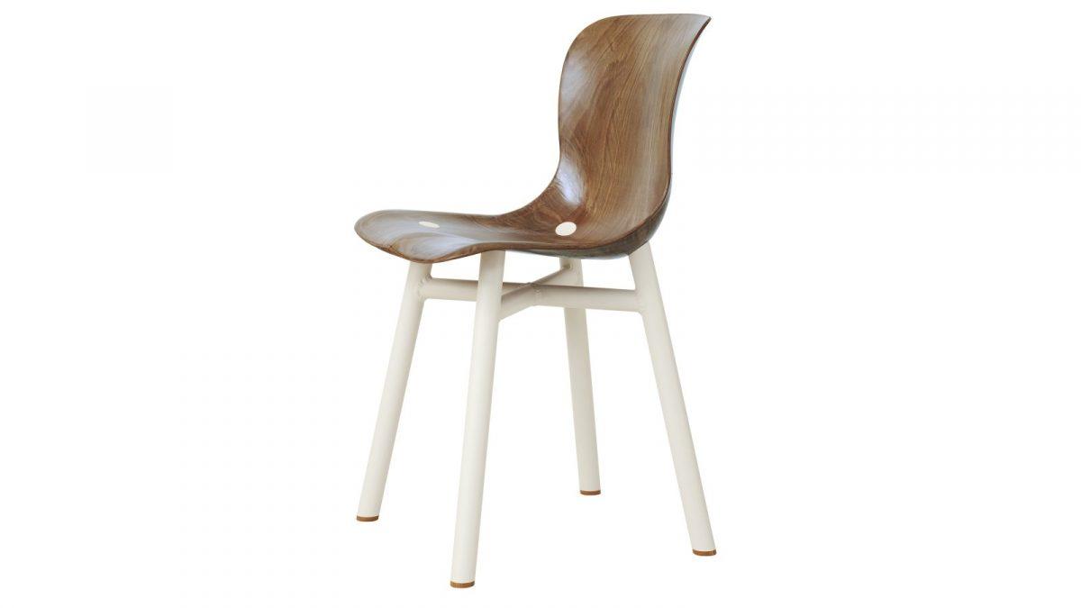 Functionals Wendela Chair Eetstoel Dutch Design White Light Eetstoel