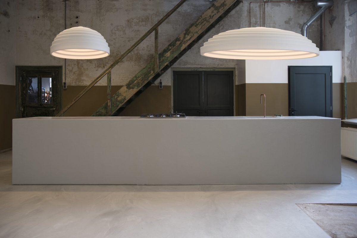 Oval Akoestische Lamp Hanglamp Dutch Design Geluidsdempend Modern