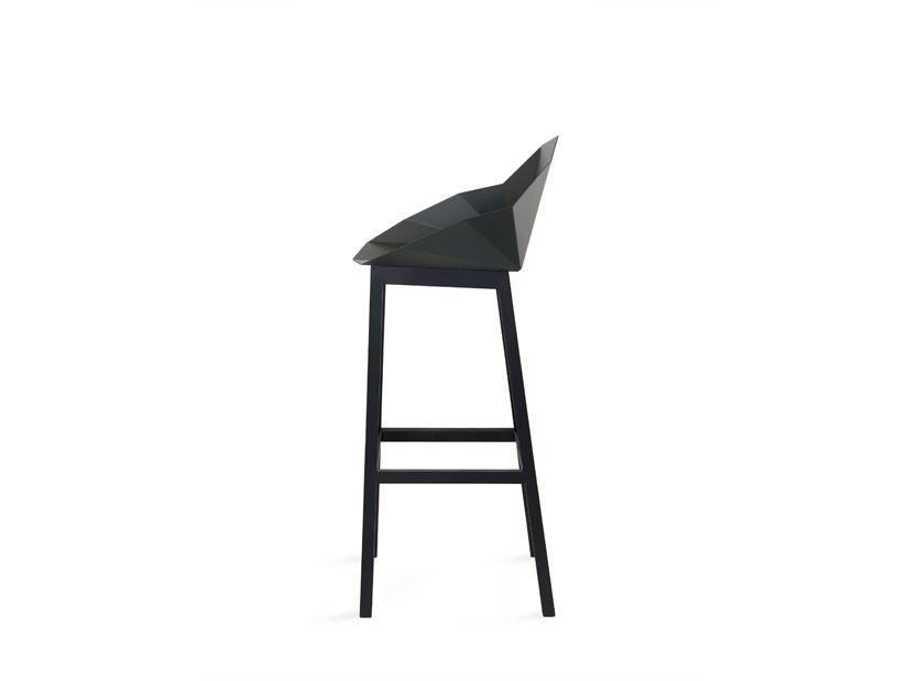 SEATSHELL Roije Dutch Design Barstoel Donkergrijs