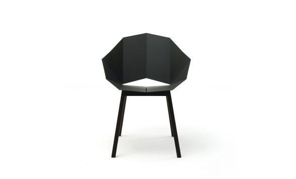 Seatshell armstoel staal