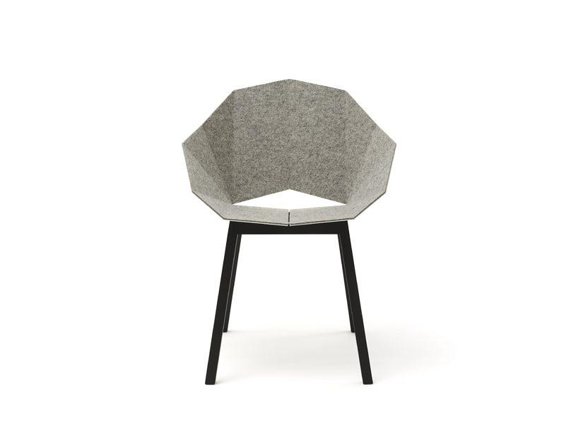 SEATSHELL Roijé Vilt Armchair Design Dutch