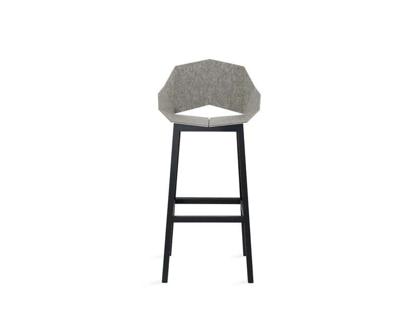 Seatshell Barstool Lichtgrijs Barkruk Design