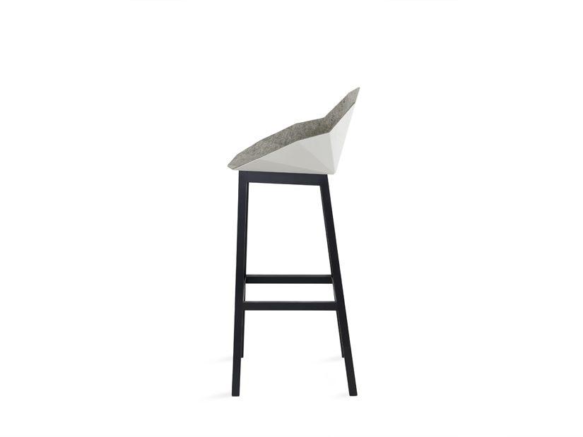 Seatshell Barstool Lichtgrijs Barkruk Design Dutch
