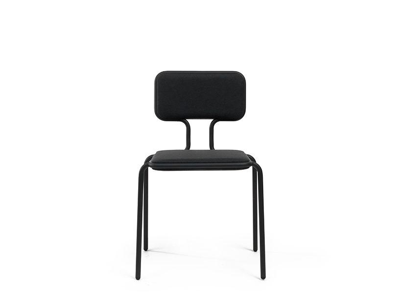 Frederik Roije donkergrijs stoel