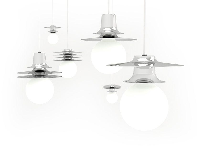 Chrome Firefly Hanglamp Roijé Set