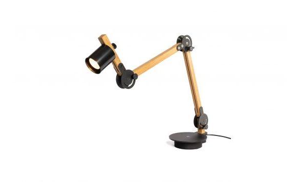 Circle spot table lamp double
