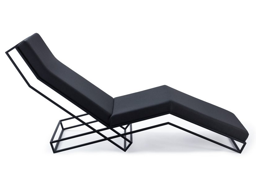 Framework Chaise Longue Dark 5