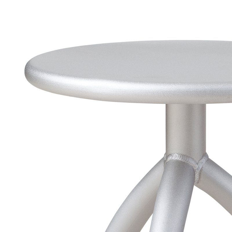 Functionals Stool Silver Dutch Design