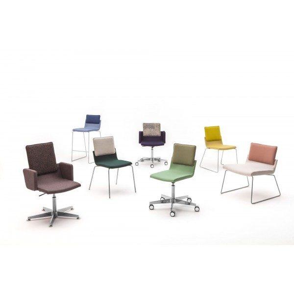 Medium Gispen Triennial Chair Collection Front View