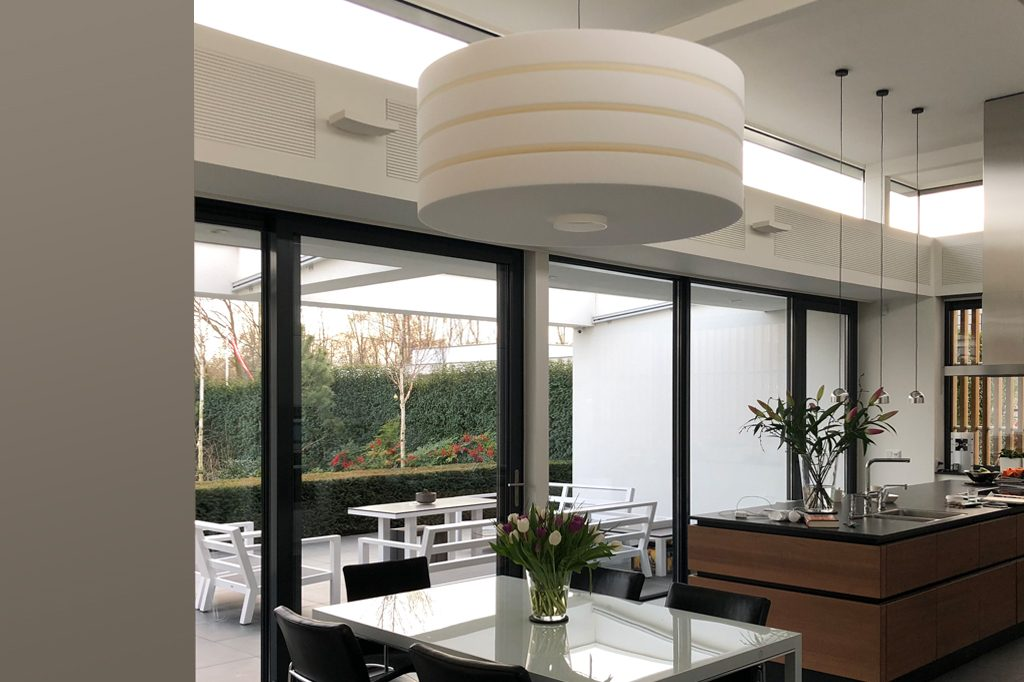 Round And Round Lamp Akoestisch Project Akoestiek Design Keuken