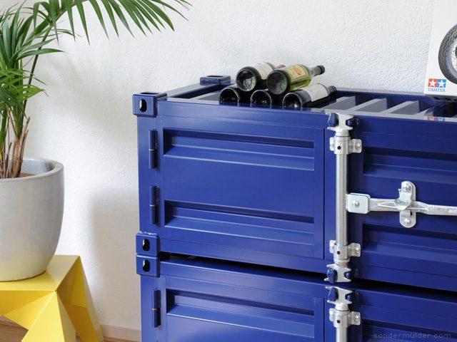 Sander Mulder Pandora Kast Cabinet Modern Blauw