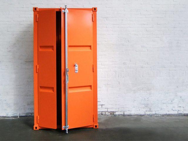 Sander Mulder Pandora Kast Design Oranje Large