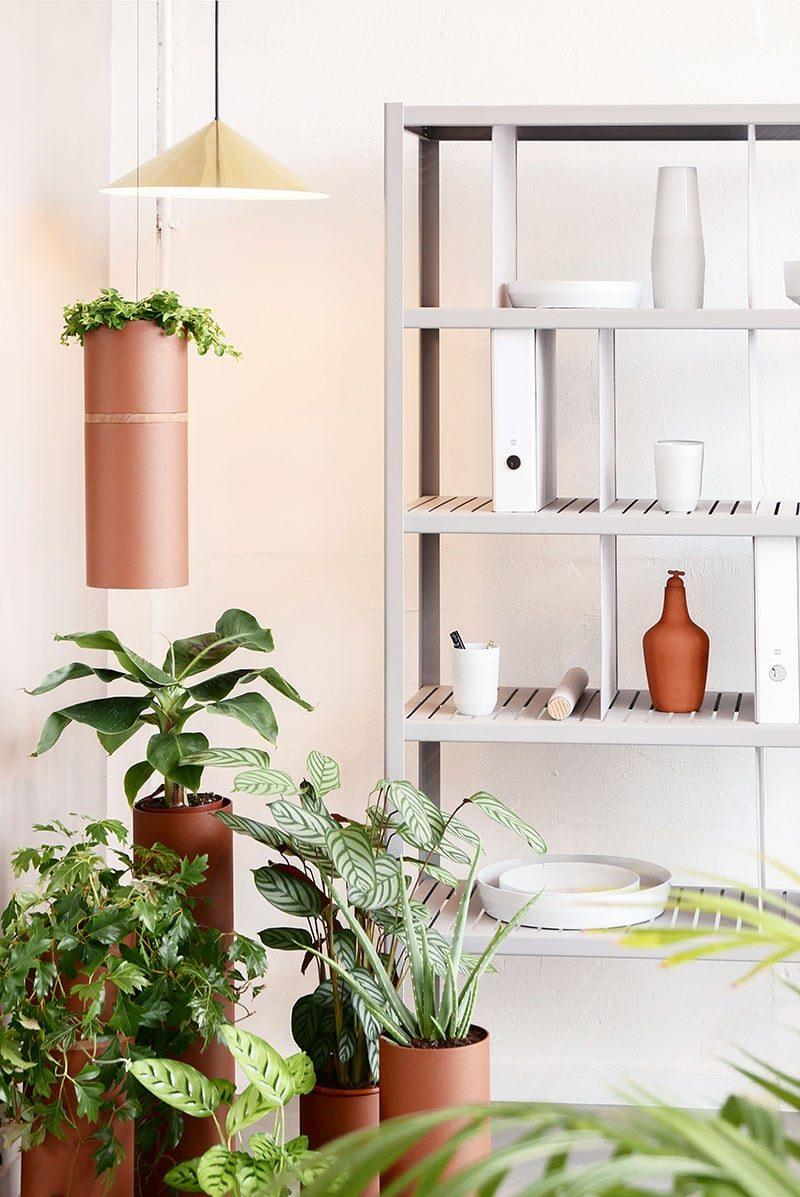 Dutch Design Set Terracotta Vij5 Plantenbak Ophangen