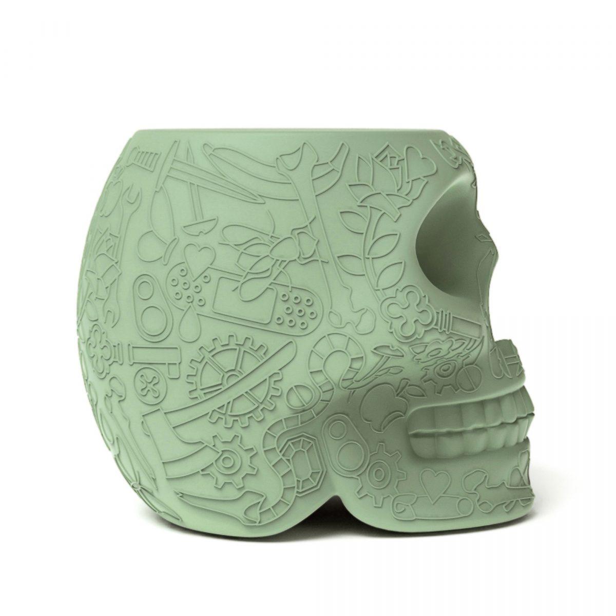 Qeeboo Mexico Krukje Bijzettafel Green Buiten Binnen