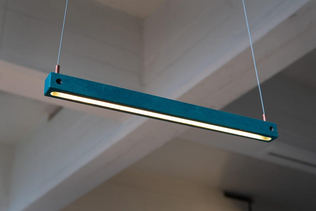 Groen Modern Arend Groosman Design Hout Zwart Hanglamp Flock