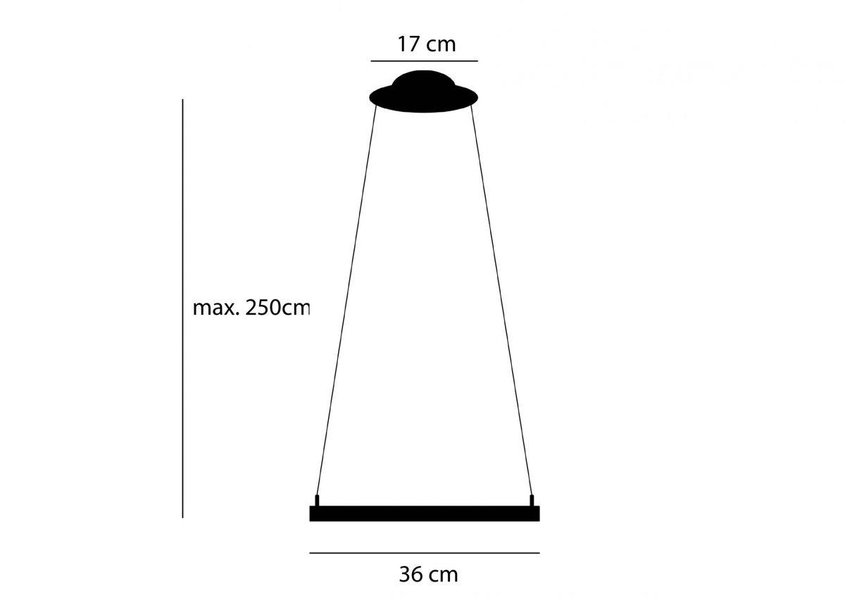 Afmetingen Dutch Design Flock Hanglamp Arend Groosman Kleur