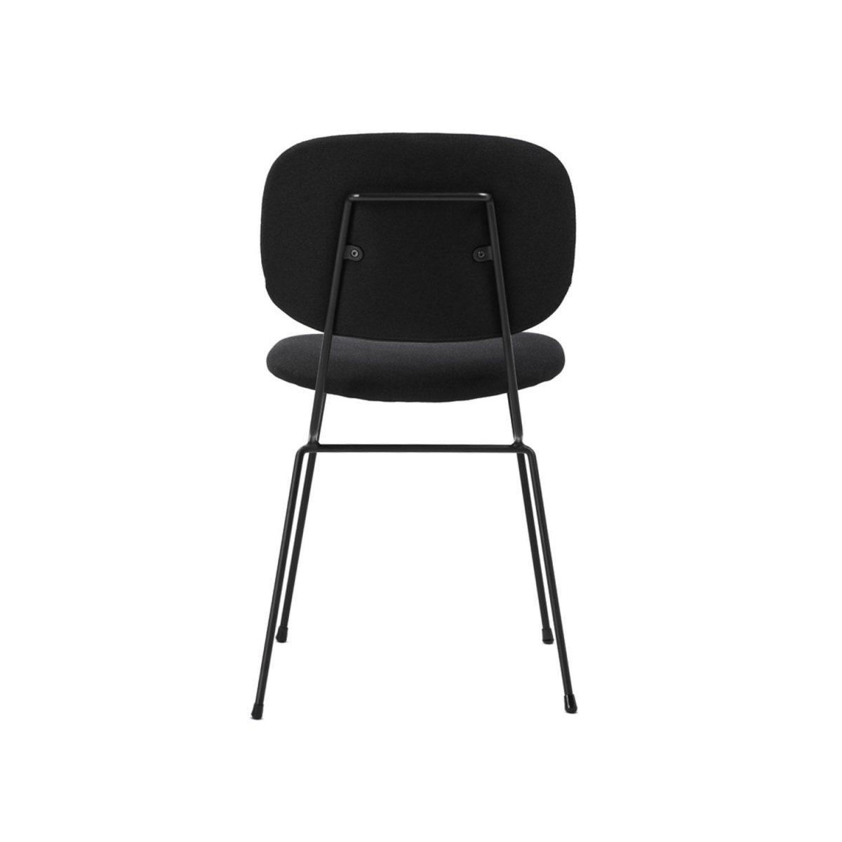 D Chair Lensvelt Gestoffeerd Stoel Eetkamerstoel Zwart Projectstoel Bureaustoel Minimalistische
