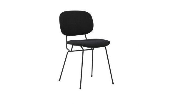 D-Chair gestoffeerd set van vier