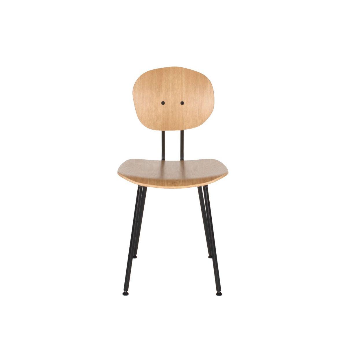Hout Maarten Baas 101 Chair Stoel Kantoor Dutch Design Restaurant Eettafelstoel H
