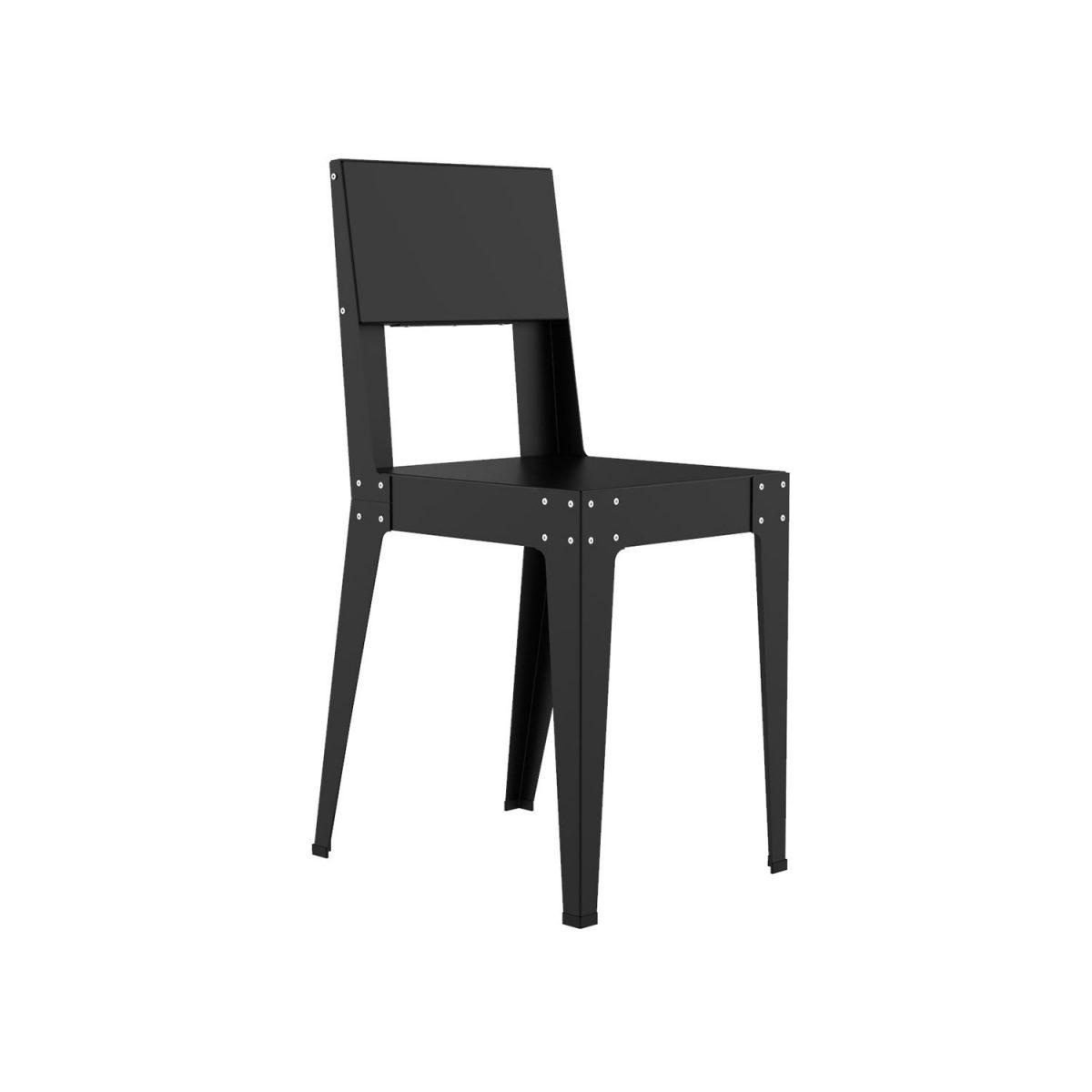 Pha201 Chair Stoel Zwart Lensvelt