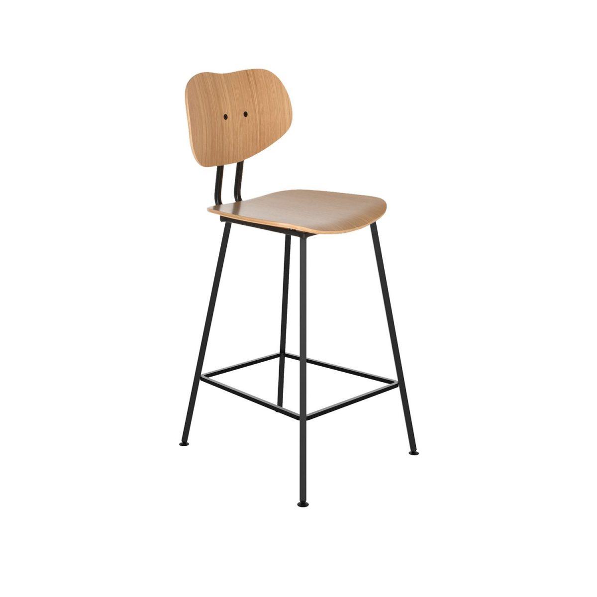 Maarten Baas Barstoel Lensvelt Dutch Design Hout