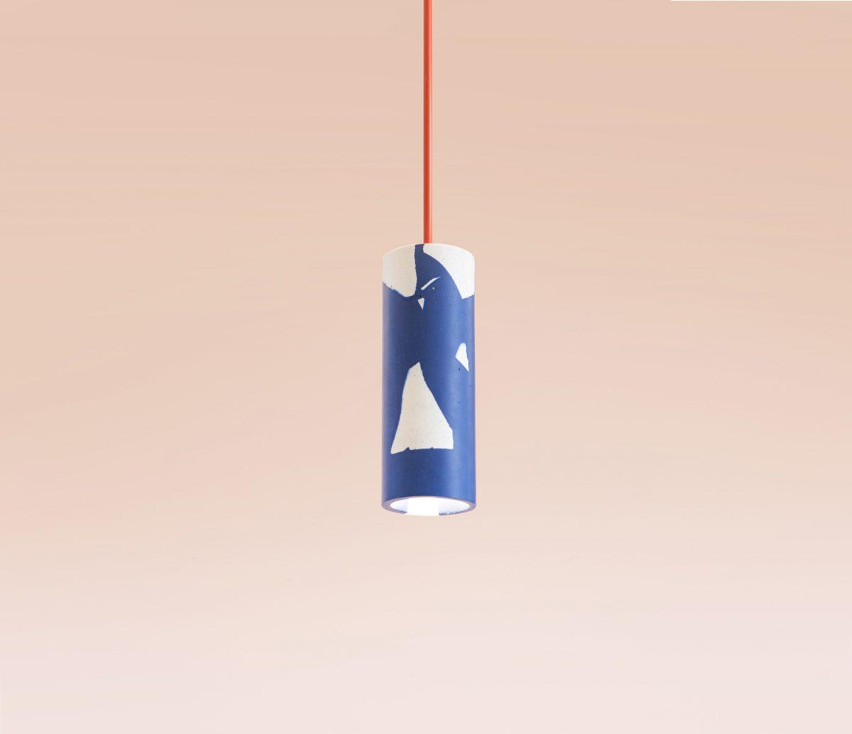 Recast Hanglamp Waarmakers Blauw 2